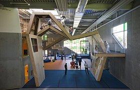 丹麦奥尔胡斯市体操和运动技巧馆