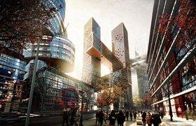 韩国首尔交叉大楼