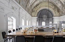 比利时安特卫普The Jane餐厅设计