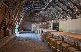 瑞典石灰仓库中的餐厅,酒吧,艺术馆