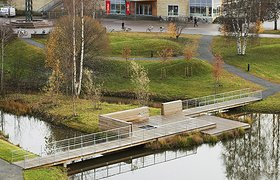 瑞典于默奥大学校园景观