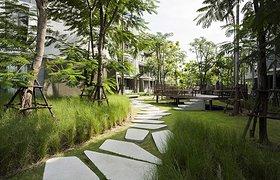 泰国七沿海滩附近某住宅区航海主题规划设计与景观设计