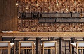 woodavenue莫斯科咖啡酒吧空间设计