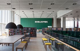 丹麦奥胡斯Dokk1图书馆