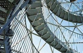 比利时隆梅尔镇的弗拉芒现代玻璃艺术中心