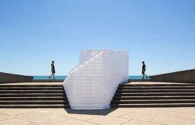 法国蒙彼利埃 2015FAV建筑节(拉格朗德默特展区)——Origamic