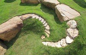 苏格兰石头艺术景观