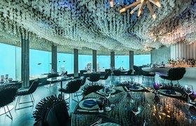 马尔代夫的水下餐厅