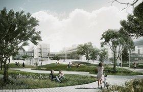 哥本哈根大学起伏辽阔的活力广场