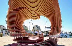 法国The PortHole Pavilion