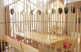 阿根廷This Cafe Was Designed To Be Fun And Playful For Adults And Children