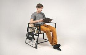 14——一个专为看报纸而设计的椅子