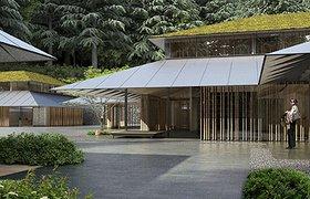 波特兰日本花园的文化村