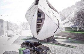 极富雕塑感的大连住宅概念方案