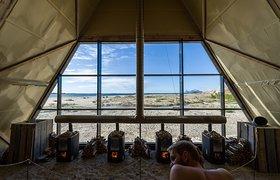 挪威SALT沙滩艺术节之世界上最大的桑拿房