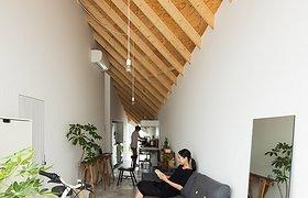 一分为二,工作室+住宅的相似对称