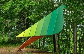 """日本公园中的""""鸟眼视角""""树屋"""
