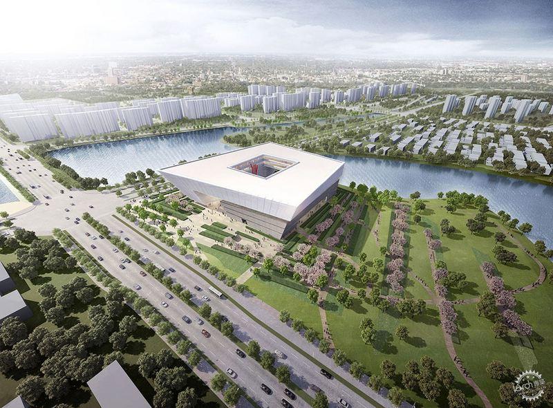 中国苏州新图书馆设计插图1