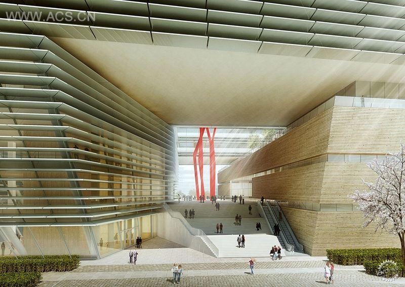 中国苏州新图书馆设计插图2