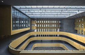 北京建筑工程学院新图书馆