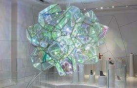 纽约Crystalized雕塑