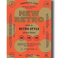 New Retro Graphics & Logo in Retro Style 品牌logo设计