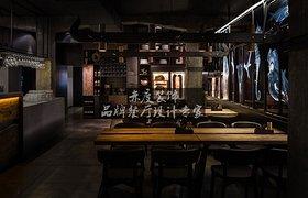 大型餐厅设计//餐厅可以摆放镜子吗?禁忌有哪些?