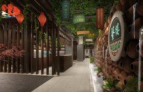 明烨天空-繁楼餐厅效果表现项目2