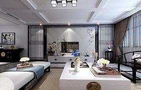 新中式三居