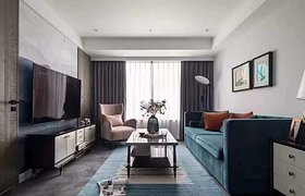 129平美式风三居室装修,温馨而有格调!