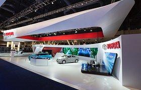 美国丰田汽车展——2014年国际消费电子展