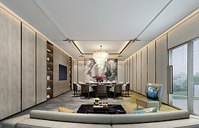 广州星河亚洲金融中心办公室 · 汇格设计