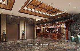 中式餐厅包厢